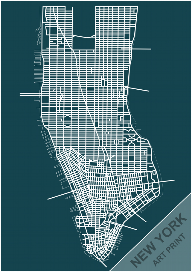 manhattan map with streets pdf