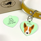 Australian Cattle Dog Collar Name Tag