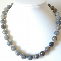 LABRADORITE NECKLACE - FREE UK SHIPPING