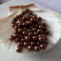 BRONZE SHELL PEARLS