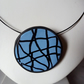 MODERN ART DESIGN NECKLACE - POLYMER CLAY - FREE SHIPPING WORLDWIDE