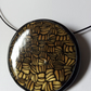 ART DECO STYLE NECKLACE - CHOKER - POLYMER CLAY - FREE SHIPPING