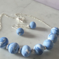 POLYMER CLAY NECKLACE WITH FREE EARRINGS - FREE UK SHIPPING