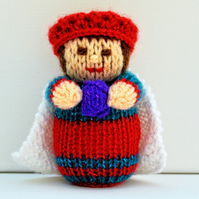 Knitted Nativity Wise Men Doll - Knitting Pattern - PDF E-Mail