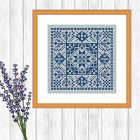 Dutch Cross Stitch Pattern - ZIP, PDF - E-Mail