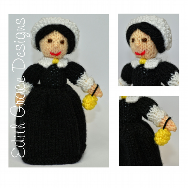 Knit Doll - Florence Nightingale Doll
