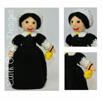 Florence Nightingale Doll Knitting Pattern