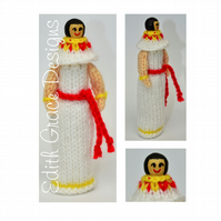 Knit Doll - Ancient Egyptian Peg Doll