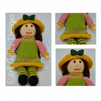 Knit Doll - Tulip A Spring Doll