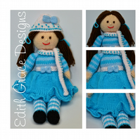 Knit Doll - Pansy A Winter Doll