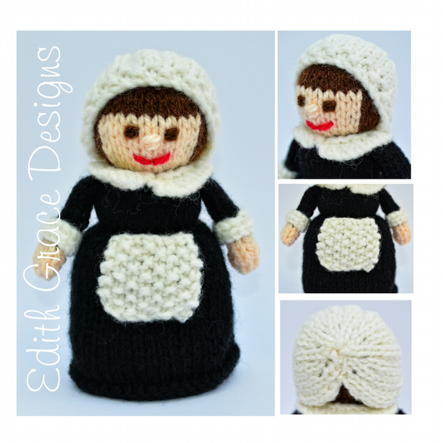Knit Doll - Constance Pilgrim Doll 1620
