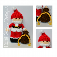 Santa Claus Doll Knitting Pattern