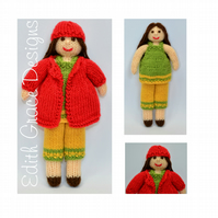 Knit Doll - Daisy Rag Doll