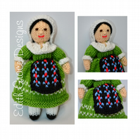 Knit Doll - French Doll