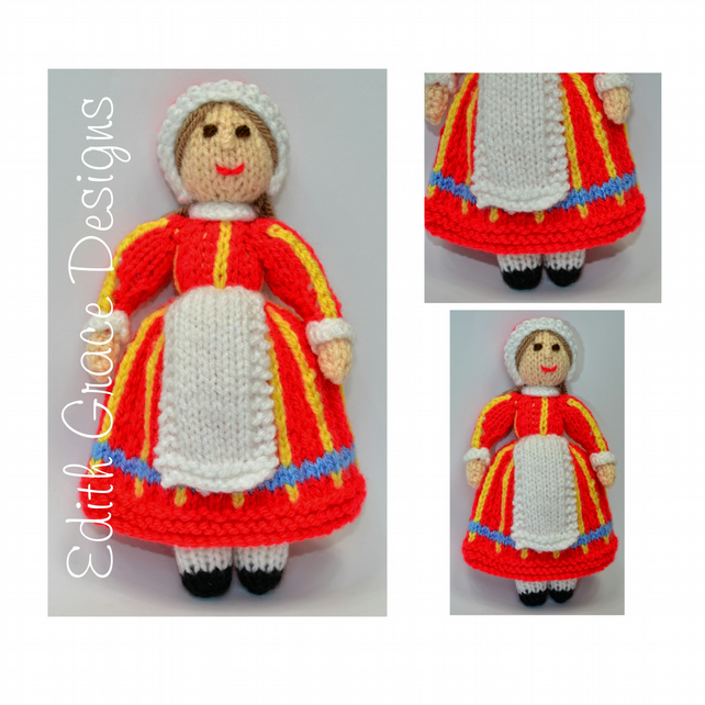 Knit Doll - Danish Folk Doll