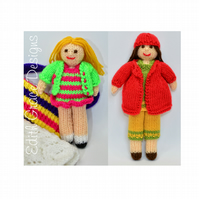 Knit Doll - Small Rag Dolls