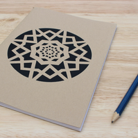Screen Printed Notebook