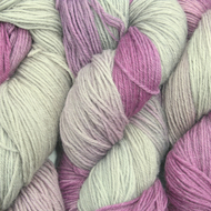 Hand-dyed Superwash 4PLY Sock Wool 100g Lavenders Bluegreen