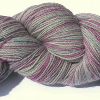 SALE! Hand-dyed Superwash 4PLY Sock Wool 100g Lavenders Bluegreen