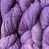 SALE! Hand-dyed Superwash 4PLY Sock Wool 100g Mauvey Mix