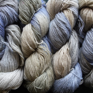 Hand-dyed Superwash 4PLY Sock Wool 100g Blue Olive