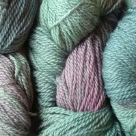 Hand-dyed 100% WOOL DK British sheep breeds Heather 100g