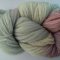 100g Hand-dyed Superwash 4PLY Sock Wool pastels