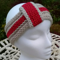 COME ON ENGLAND! Headband Bamboo & Wool World Cup 2018 edition