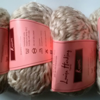 50g LOUISA HARDING ROSETTI silk wool in Cream