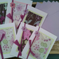 SPECIAL! 6 X BLANK LETTER CARDS Flower