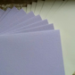 10 X C6 Card Blanks and Envelopes in Lilac with Ivory envelopes