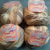 50g ADRIAFIL DUO PLUS Wool Cotton