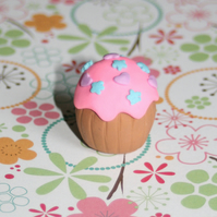 Handmade Cupcake Pencil Eraser Rubber