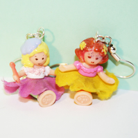 Fairy Girls Vintage Polly Pocket Earrings
