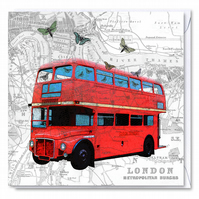 Routemaster Greetings Card