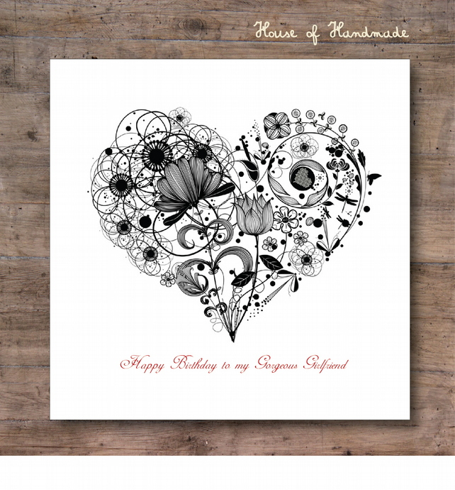 Mono Heart - Personalised for FREE