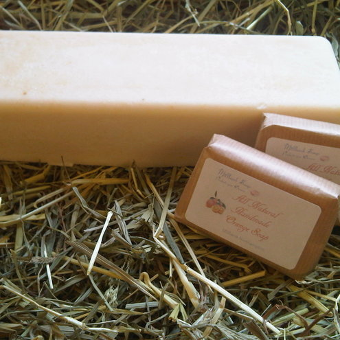 Orange Traditional Handmade Soap