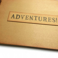 adventure scrapbook album travel journal memory book retirement gift