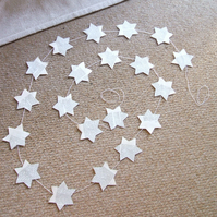 paper star garland approximately 2 m