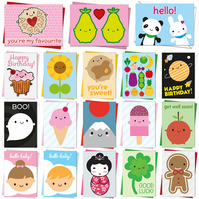 Pick & Mix Kawaii Cards - birthday, new baby, get well soon, good luck