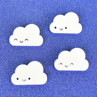 Happy Cloud Kawaii Acrylic Brooches