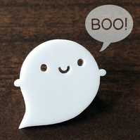 Little Ghost Kawaii Acrylic Brooch