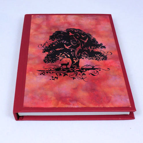 A6 Notebook - Red Tree
