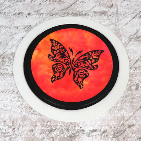 ***SALE*** Tax Disc Holder - Butterfly