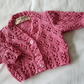 Pink Cotton Cardigan