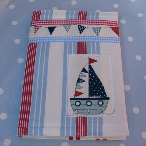 Covered Notebook A5 size - Seaside Range 20% off!