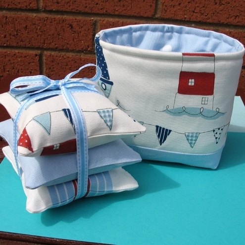 Pillows and Bathroom Tidy Set  ONE DAY SALE