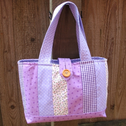 Patchwork Summer Bag