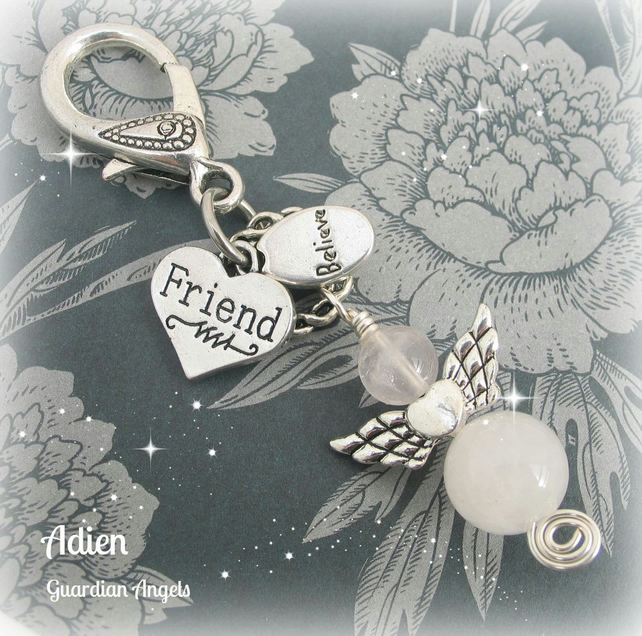 Guardian Angel Friend Bag Charm