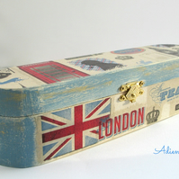 Sherlock Holmes and London Pen and Pencil Box